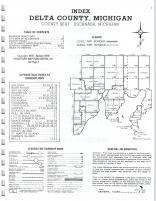 Index Map, Delta County 1977